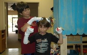 Playing with Puppets