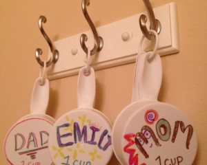 Measuring Cups Hung